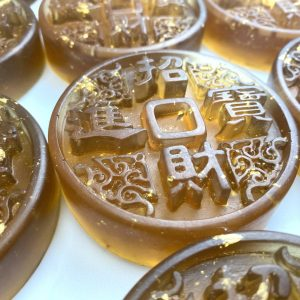 艾草金箔皂